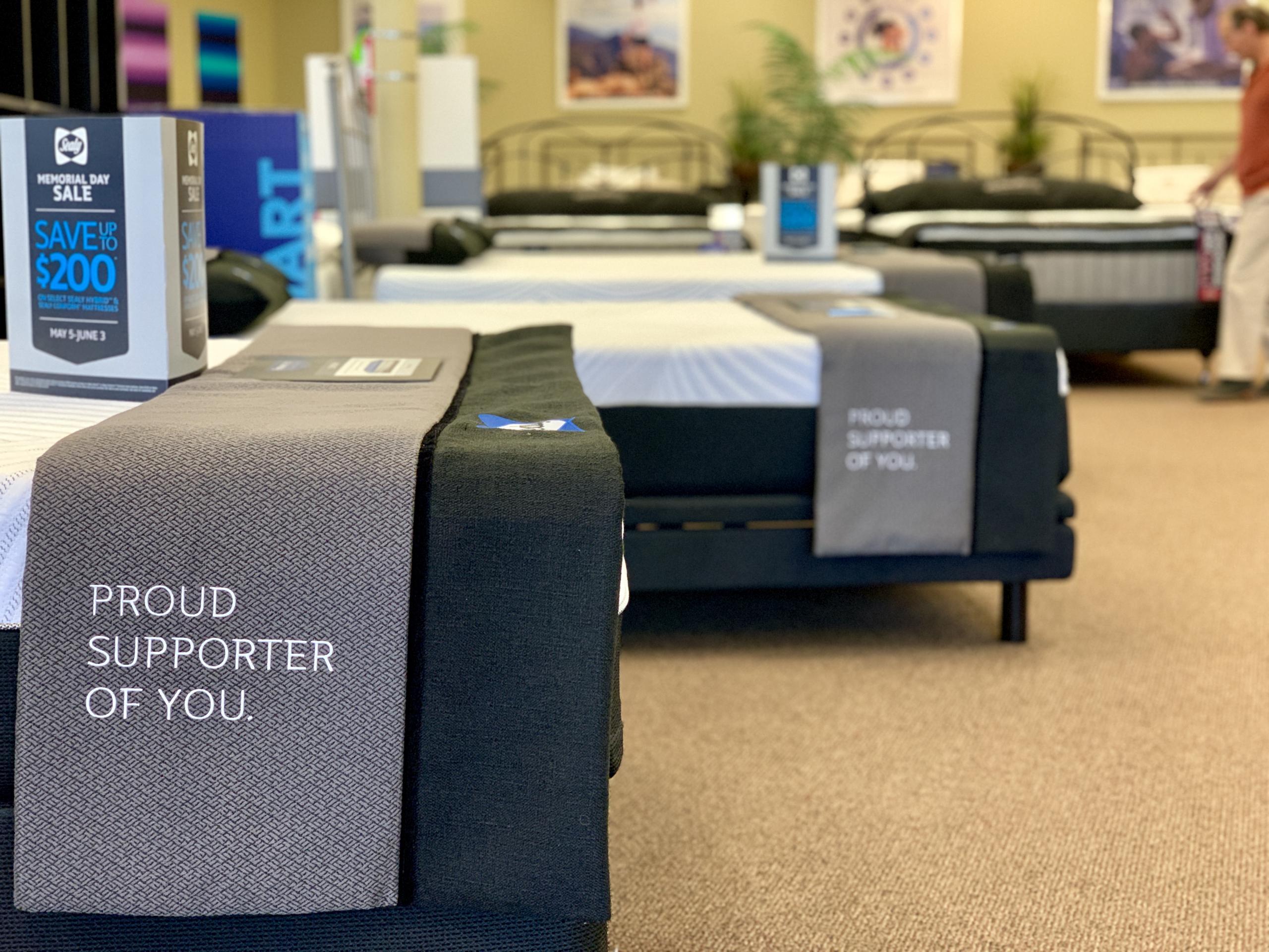 sherwood mattress store sealy product